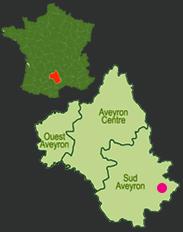Plan d'accès au gîte le Camarat